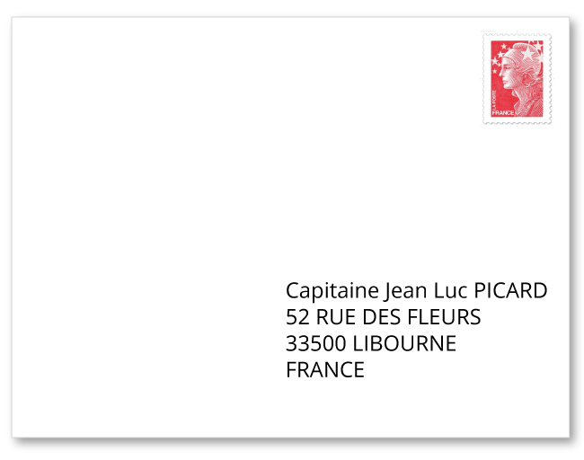 French postal codes and the french address format french address format spiritdancerdesigns Choice Image