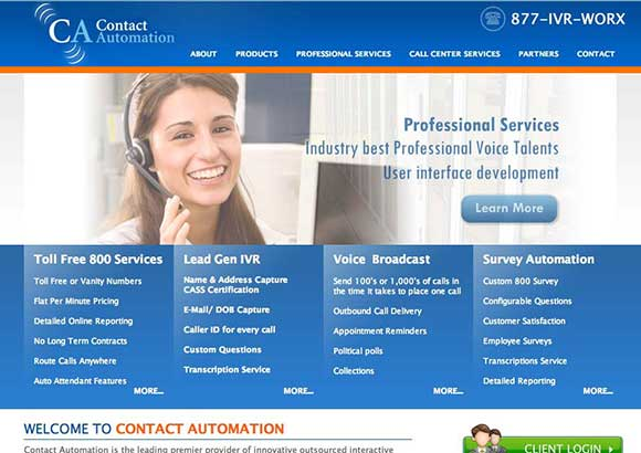 Contact Automation Home Page