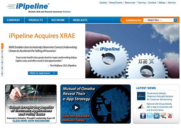 iPipeline Home Page