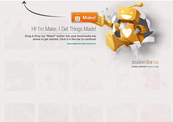 MakeItFor.Us Home Page