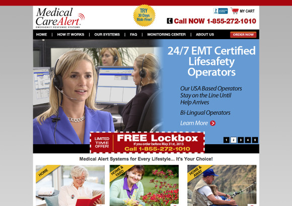 Medical Care Alert Home Page