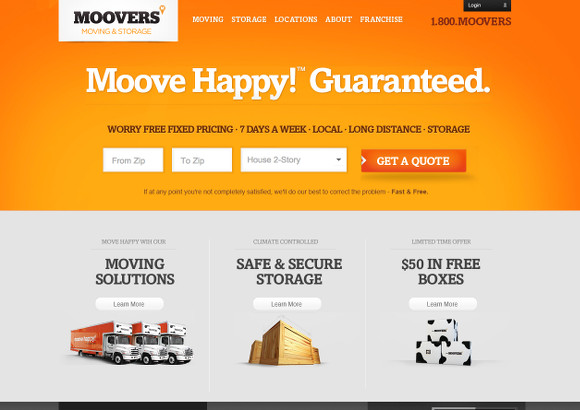 Moovers Home Page