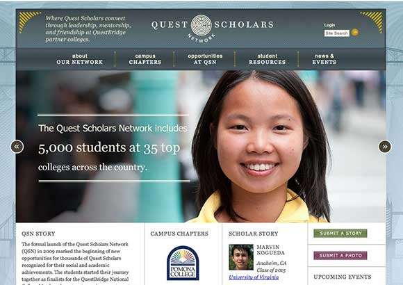Quest Scholars Network Home Page