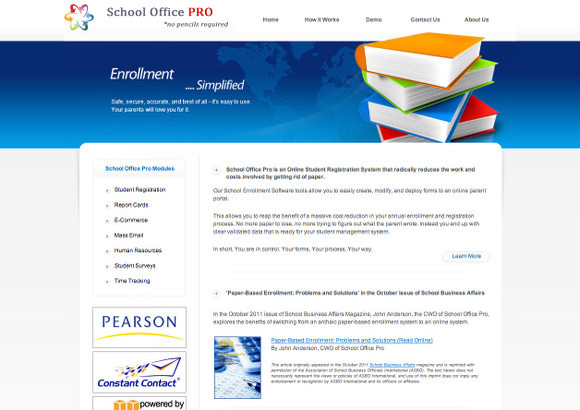 School Office Pro Home Page