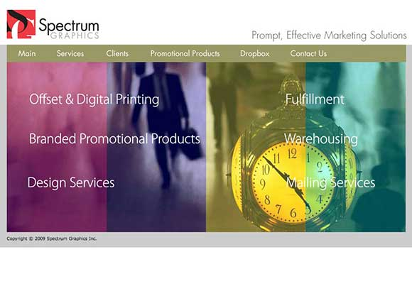 Spectrum Graphics Home Page