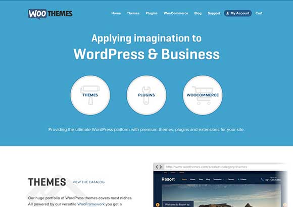 WooThemes Home Page